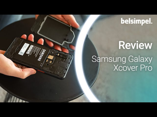 Belsimpel-productvideo voor de Samsung Galaxy Xcover Pro