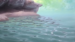 How To Paint Waves - Lesson 4 - Ripples