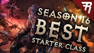 Diablo 3 Season 16 Best Starter Builds & Class