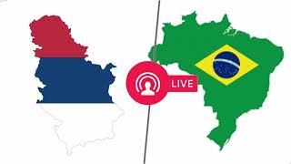 مباراة البرازيل وصربيا   كاس العالم   2018     -