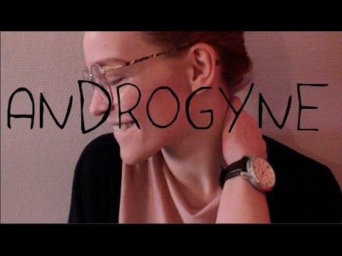 Androgyne (maquillage et coiffure)