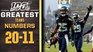 100 Greatest Teams: Numbers 20-11 | NFL 100