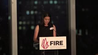 FIRE's 15th Anniversary Remarks by Merritt Burch