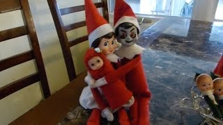 Elf on the Shelf: Happy Easter and Introducing Flora!