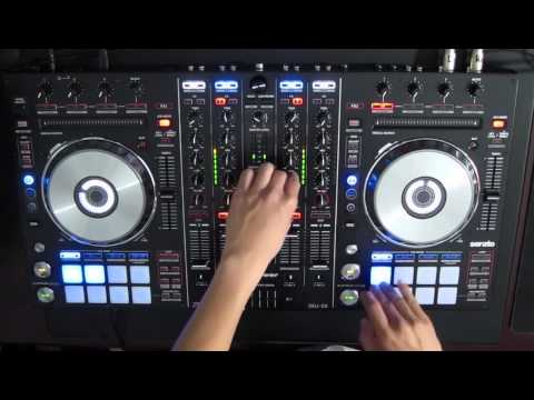 """Pioneer DDJ-SX """"I'm just screwing around"""" electro/scratch mix or something"""