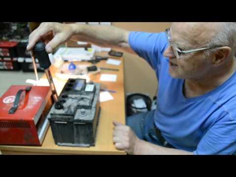 Проверка исправности аккумуляторной батареи