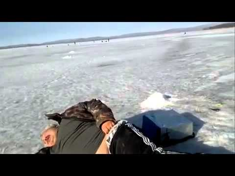 Зимняя рыбалка удалась :))