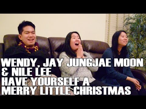 Wendy x Jay Jungjae Moon x Nile Lee - Have Yourself a Merry Little Christmas (Reaction Video)
