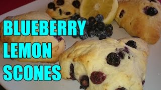 Blueberry Lemon Scones Recipe | Episode 62