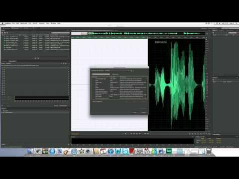 ¿Cómo usar Adobe Audition CS6?