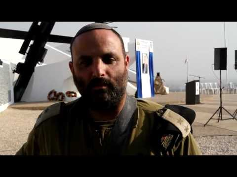 Shalom Eisner Staff Sergeant of the Jordan Valley Welcomes Rabbi yaakov weingarten Brooklyn