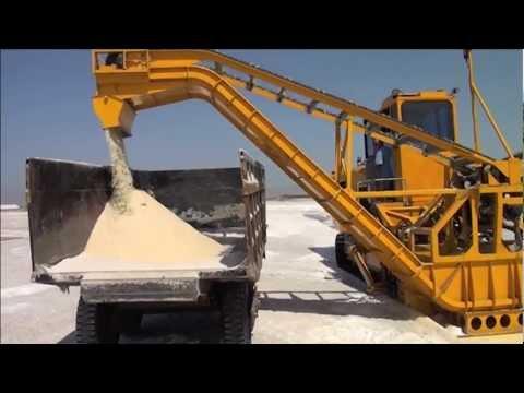 Durrant 590-95 salt harvester in India