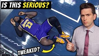 Is LeBron James ANKLE TWEAK Serious? Doctor Reacts to Latest NBA Playoffs Injury Concern