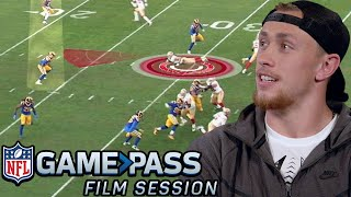 George Kittle Breaks Down Route Running, the Advantages of Motion, & Run Blocking | NFL Film Session