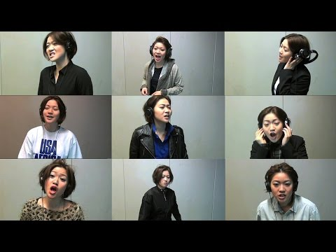 We Are The World ~ひとりで23人~ / YUKINO's (Yukino sings and plays all the 23 singers in original one. )