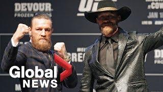"UFC 246: McGregor vs. ""Cowboy"" Cerrone Weigh-In"