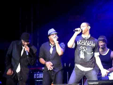 Naturally 7's tribute to Michael Jackson with Chris Tucker (Bermuda Music Festival 2009)
