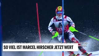 So viel ist Marcel Hirscher jetzt wert