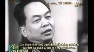 Đại tướng Võ Nguyên Giáp trả lời phỏng vấn báo chí phương Tây (VTV kí ức Việt Nam)
