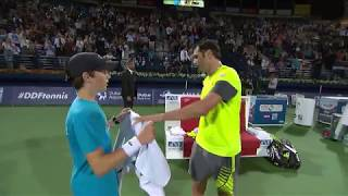 2018 ATP Day 2 Highlights: Jaziri Shows Dimitrov Exit