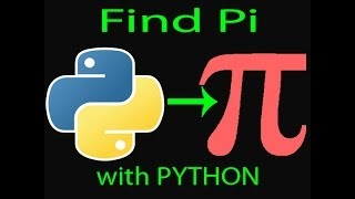 Tutorial Fridays---Python: Calculating Pi