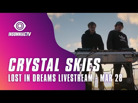 """Crystal Skies for Lost in Dreams """"Crazy While We're Young"""" Livestream (March 28, 2021)"""