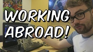 WORKING ABROAD! - BEHIND THE SCENES AND OFFICE TOUR - SEATIN VLOGS #3