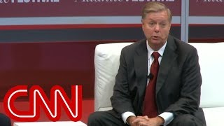 Sen. Graham to booing crowd: Boo yourself
