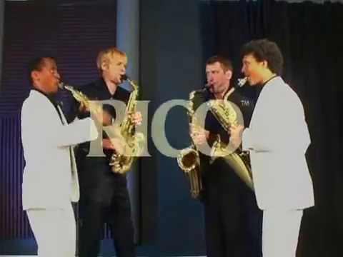 Asturias - Isaac ALBENIZ by Ellipsos Saxophone Quartet