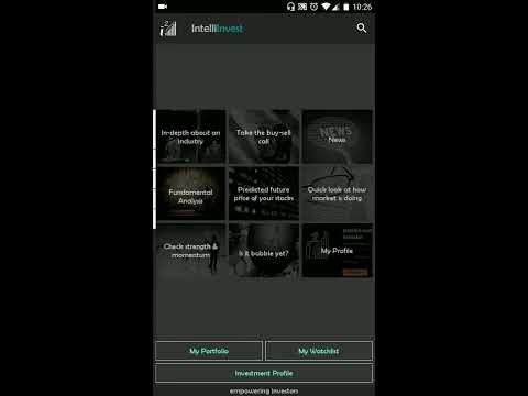 IntelliInvest Introduction