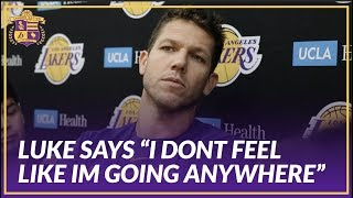 Lakers Interview: Luke Walton Reacts to Article of His Meeting with Magic After Teams Slow Start