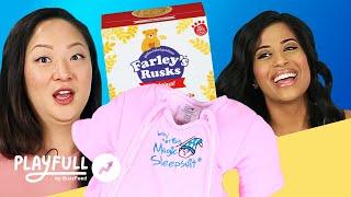 American Vs. U.K. Moms Swap Parenting Essentials