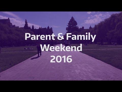UW Parent & Family Weekend 2016
