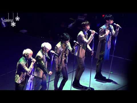 [Fancam]131224 SHINee BMU in Tokyo - Color of the season (Full ver.)