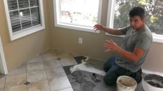 Como sacar la escuadra para instalar cer mica baldosas o - Como quitar el sarro del piso ceramico ...