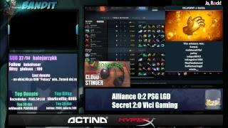 Dota 2 -Secret vs Vici Gaming   Kuala Lumpur Major