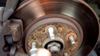 How to Change the front Brakes on your Neon (Dodge, Plymouth, Chrysler)