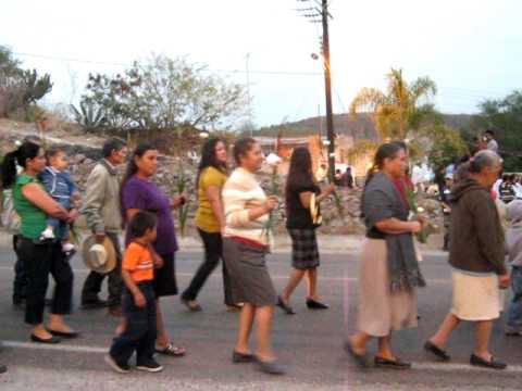 El Tule Apozol Zacatecas 2010 Tastuanes y peregrinación