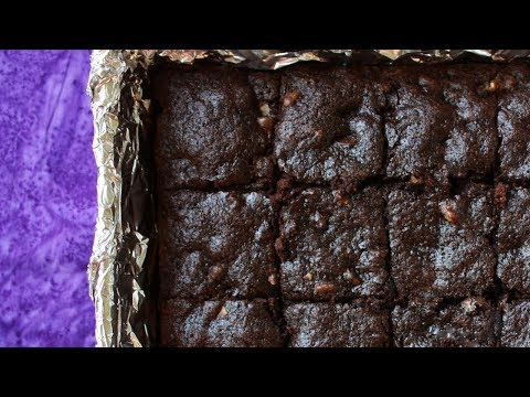 Whole Wheat Chocolate Brownies - Healthier, No Butter, Ready in 30 ...