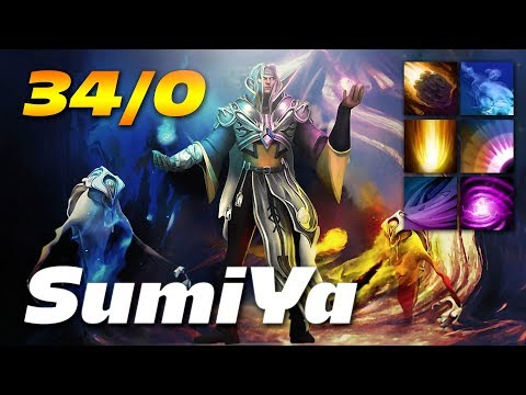 Sumiya Invoker Excellence 34/0 - Dota 2 Pro MMR Gameplay
