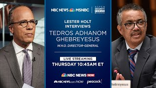 Watch: Lester Holt Moderates WHO Panel | NBC News