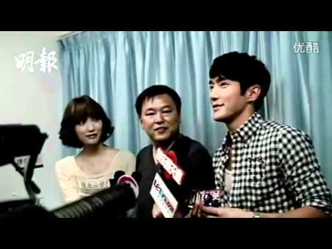 [VID] Siwon talking in perfect Chinese yesterday to the Press^^