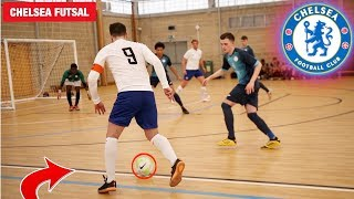 I played in a REAL FOOTBALL MATCH vs  CHELSEA! (Futsal FA CUP)