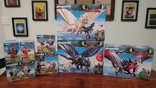 An In-Depth Look at Playmobil's HOW TO TRAIN YOUR DRAGON: THE HIDDEN WORLD Toys