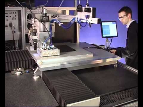 High precision materials deposition