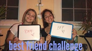 best friend challenge