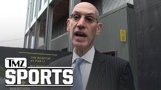 NBA's Adam Silver, 'We Certainly Didn't Apologize to the Chinese Govt.' | TMZ Sports
