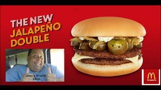 McDonald's® New Jalapeno Double REVIEW!