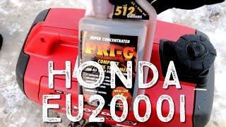 Starting and Breaking In a Honda EU2000i Generator