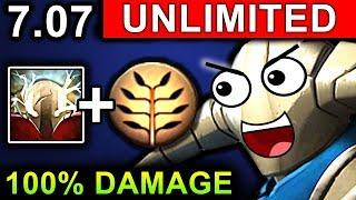 UNLIMITED DAMAGE SVEN - DOTA 2 PATCH 7.07 NEW META PRO GAMEPLAY